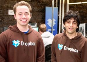 Fundadores do Dropbox também têm mentores